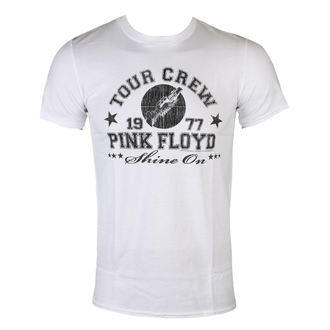 tee-shirt métal pour hommes Pink Floyd - tour crew 1977 - LOW FREQUENCY, LOW FREQUENCY, Pink Floyd