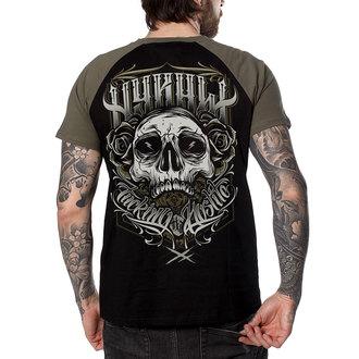 t-shirt hardcore pour hommes - FUCKING HOSTILE KAKI - HYRAW, HYRAW