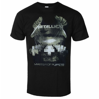 T-shirt pour homme Metallica - Master Of Puppets - Distressed - ROCK OFF, ROCK OFF, Metallica