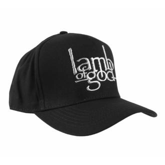 Casquette Lamb Of God - Sonic Logo Sliver - ROCK OFF, ROCK OFF, Lamb of God