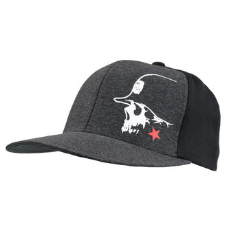 Casquette METAL MULISHA - LIGHT BLK, METAL MULISHA