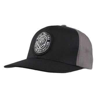 Casquette METAL MULISHA - DESTRUCT BLK, METAL MULISHA