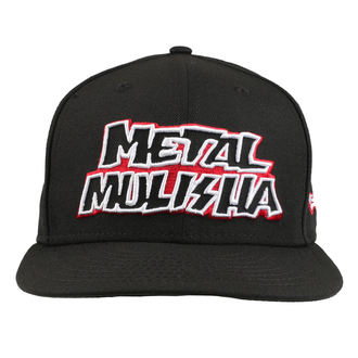 Casquette METAL MULISHA - STICK UP BLK, METAL MULISHA