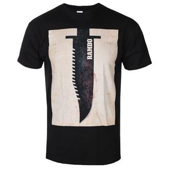t-shirt de film pour hommes Rambo - Knife - AMERICAN CLASSICS, AMERICAN CLASSICS, Rambo