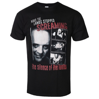 t-shirt de film pour hommes The Silence of the Lambs - Screaming - AMERICAN CLASSICS, AMERICAN CLASSICS, Le silence des agneaux