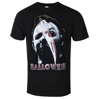 t-shirt de film pour hommes Halloween - Mask and Knife - AMERICAN CLASSICS, AMERICAN CLASSICS, Halloween