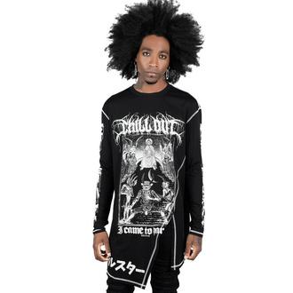 T-shirt Unisexe à manches longues KILLSTAR - Chill Out Drape - Noir, KILLSTAR
