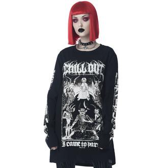 T-shirt unisexe à manches longues KILLSTAR - Chill Out - Noir, KILLSTAR