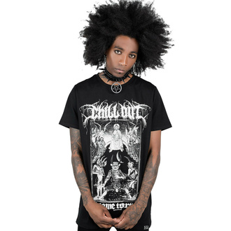T-shirt unisexe KILLSTAR - Chill Out - Noir, KILLSTAR