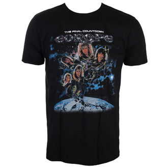 tee-shirt métal pour hommes Europe - FINAL COUNTDOWN - LIVE NATION, LIVE NATION, Europe