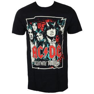 tee-shirt métal pour hommes AC-DC - CARTOON - LIVE NATION, LIVE NATION, AC-DC