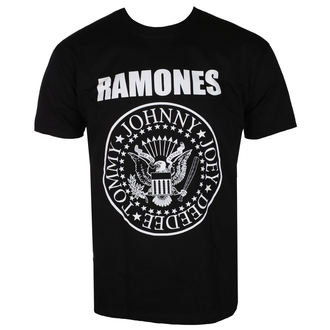 tee-shirt métal pour hommes Ramones - CREST - LIVE NATION, LIVE NATION, Ramones