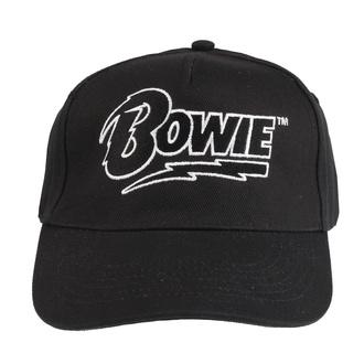 Casquette DAVID BOWIE - LOGO - NOIR - LIVE NATION, LIVE NATION, David Bowie