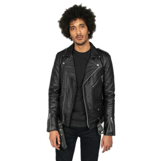 Veste STRAIGHT TO HELL pour homme - Commando Long Black Nickel, STRAIGHT TO HELL