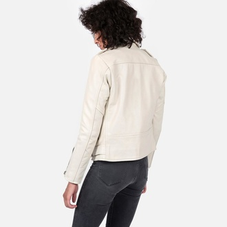 veste en cuir pour femmes - Commando Wht - STRAIGHT TO HELL, STRAIGHT TO HELL