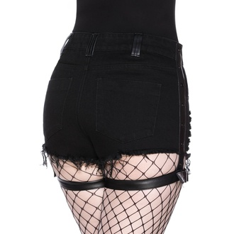 Short pour femmes KILLSTAR - Contraband Denim, KILLSTAR