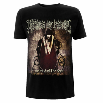 t-shirt pour homme Cradle Of Filth - Cruelty And The Beast - Gildan Heavy - Noir, NNM, Cradle of Filth