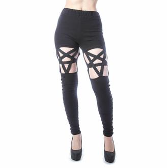 Pantalon pour femmes (leggings) HEARTLESS - CURSED - NOIR, HEARTLESS