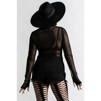 T-shirt à manches longues pour femmes KILLSTAR - Cursed - Noir, KILLSTAR