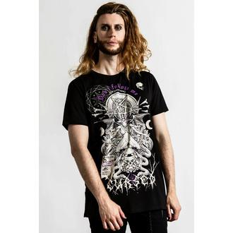 T-shirt unisexe KILLSTAR - Cursed - Noir, KILLSTAR