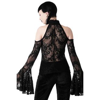 T-shirt à manches longues pour femmes KILLSTAR - Cyrena Lace, KILLSTAR