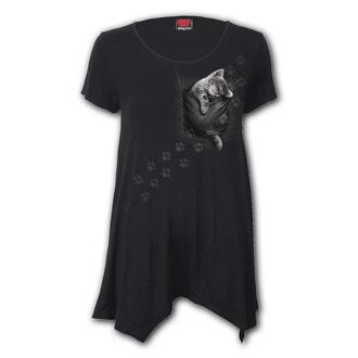 t-shirt pour femmes - POCKET KITTEN - SPIRAL, SPIRAL