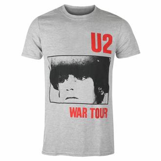 T-shirt pour homme U2 War Tour - GRIS - ROCK OFF, ROCK OFF, U2