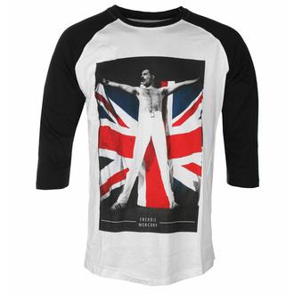 T-shirt pour homme Freddie Mercury - Drapeau - ROCK OFF, ROCK OFF, Queen