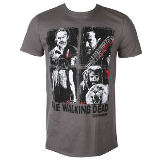 t-shirt de film pour hommes The Walking Dead - 4 CHARACTERS - PLASTIC HEAD, PLASTIC HEAD