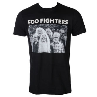 tee-shirt métal pour hommes Foo Fighters - OLD BAND - PLASTIC HEAD