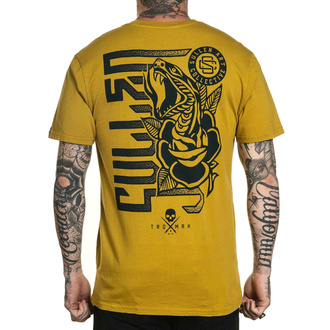T-shirt SULLEN pour hommes - SMELL THE ROSES - MOUTARDE, SULLEN