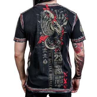 t-shirt hardcore pour hommes - Battle Royale - WORNSTAR, WORNSTAR