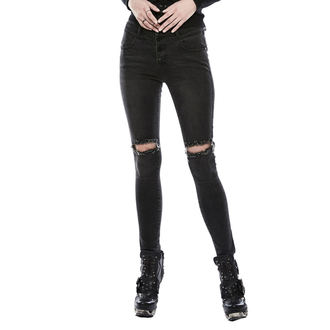 Pantalon femmes (jeans) PUNK RAVE - washed out, PUNK RAVE