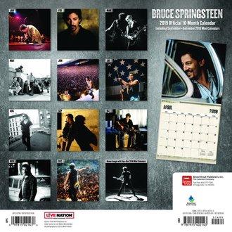 Calendrier 2019 BRUCE SPRINGSTEEN, NNM, Bruce Springsteen