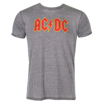 tee-shirt métal pour hommes AC-DC - Logo - ROCK OFF, ROCK OFF, AC-DC