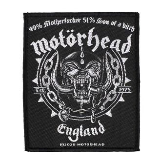 Patch Motörhead - Ball & Chain - RAZAMATAZ, RAZAMATAZ, Motörhead