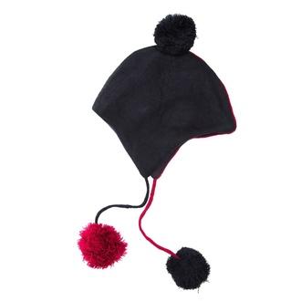 Bonnet HEARTLESS - DAEMON - NOIR / ROUGE, HEARTLESS