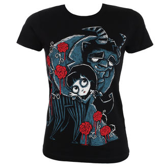 t-shirt hardcore pour femmes - Misery and the Beast - Akumu Ink, Akumu Ink