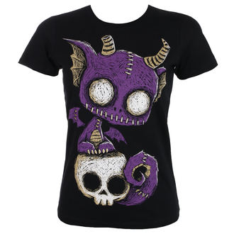 t-shirt hardcore pour femmes - Immortal Companion - Akumu Ink, Akumu Ink