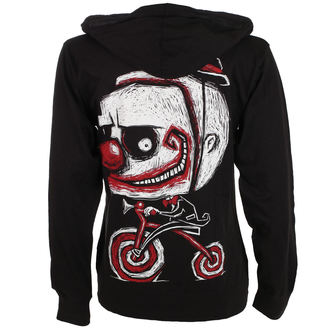 sweat-shirt avec capuche unisexe - Creep The Clown - Akumu Ink, Akumu Ink