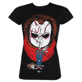 t-shirt hardcore pour femmes - CHUCKY - GRIMM DESIGNS, GRIMM DESIGNS