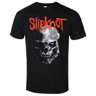 T-shirt pour hommes Slipknot - Gray Chapter Skull - BL - ROCK OFF, ROCK OFF, Slipknot
