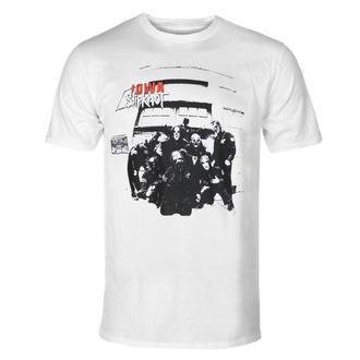 T-shirt pour hommes Slipknot - Iowa Tracklist - WHT - ROCK OFF - SKTS64MW