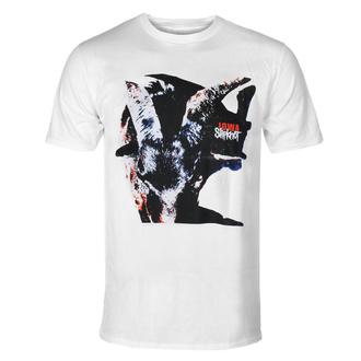 T-shirt pour hommes Slipknot - Iowa - Goat shadow - WHT - ROCK OFF, ROCK OFF, Slipknot