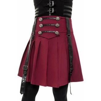 Jupe pour femmes KILLSTAR - Dark Academy - BLOOD, KILLSTAR