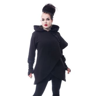 sweat-shirt avec capuche pour femmes - DARK CAPE - CHEMICAL BLACK, CHEMICAL BLACK
