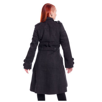 Manteau POIZEN INDUSTRIES - DARK ROMANCE - GRIS, POIZEN INDUSTRIES