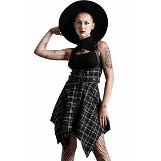 Jupe pour femmes KILLSTAR - Dazed & Confused Suspender - ASH TARTAN, KILLSTAR