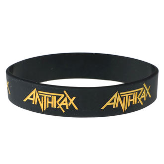 Bracelet caoutchouc Anthrax - ROCK OFF, ROCK OFF, Anthrax