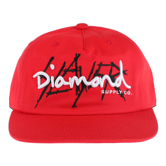 Casquette SLAYER - DIAMOND - Unstructured - rouge, DIAMOND, Slayer
